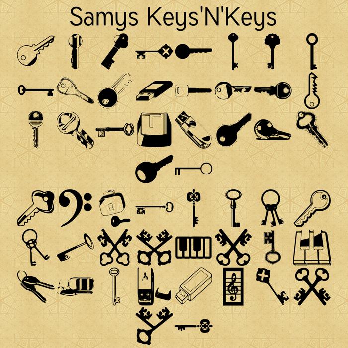 Samys Keys N Keys Font