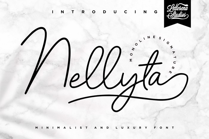 Nellyta Font poster