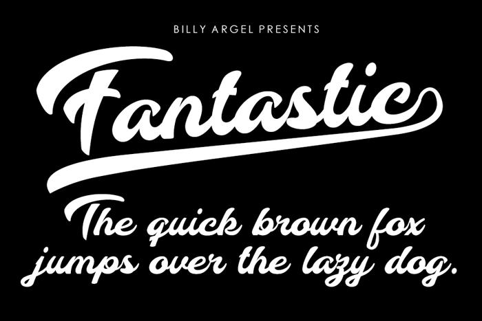 Fantastic Font poster