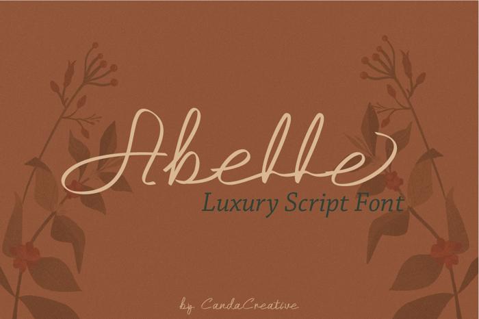 Abelle Font poster