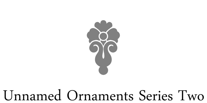 Unnamed Ornaments Series Two Font