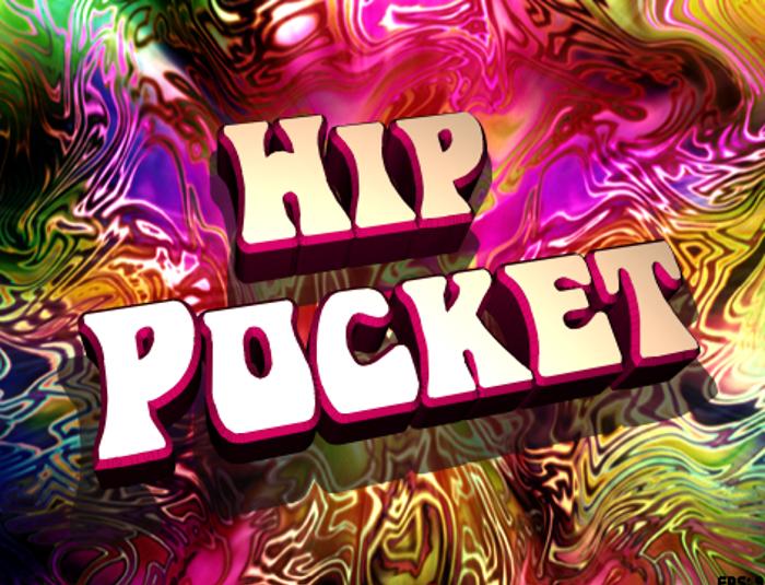 Hip Pocket Font poster