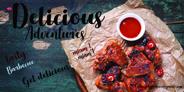 Delicious Adventures Font poster