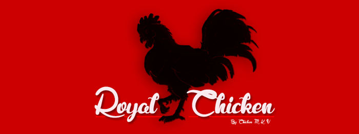 Royal Chicken Font poster