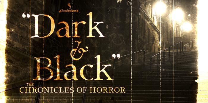 Dark & Black Font poster