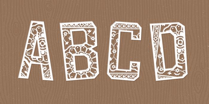 Forgotten Playbill Font poster