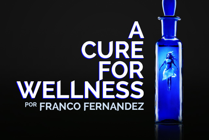 A Cure For Wellness Font poster