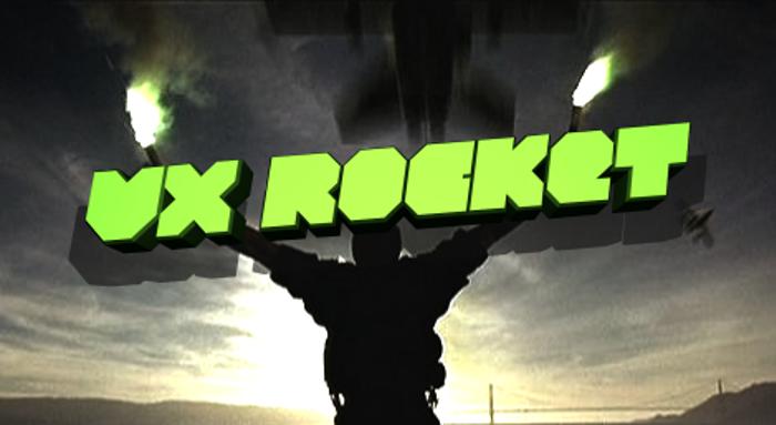 VX Rocket Font poster