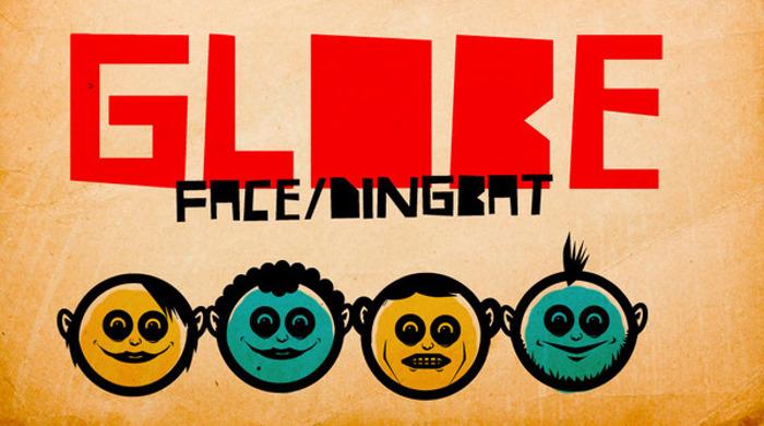 GLOBE FACE Font poster