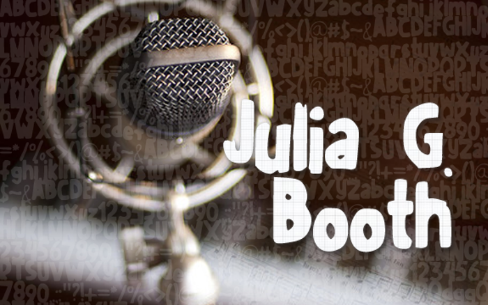 JuliaGBooth Font poster
