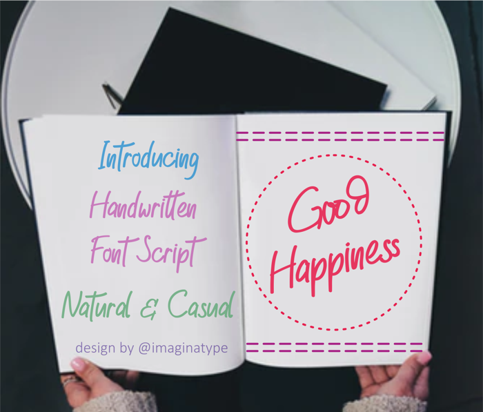 Good Happiness Font poster