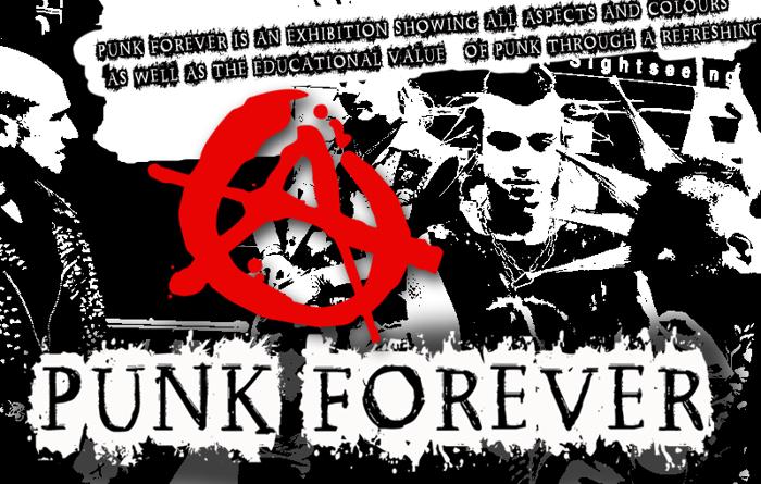 CF Punk Forever Font poster