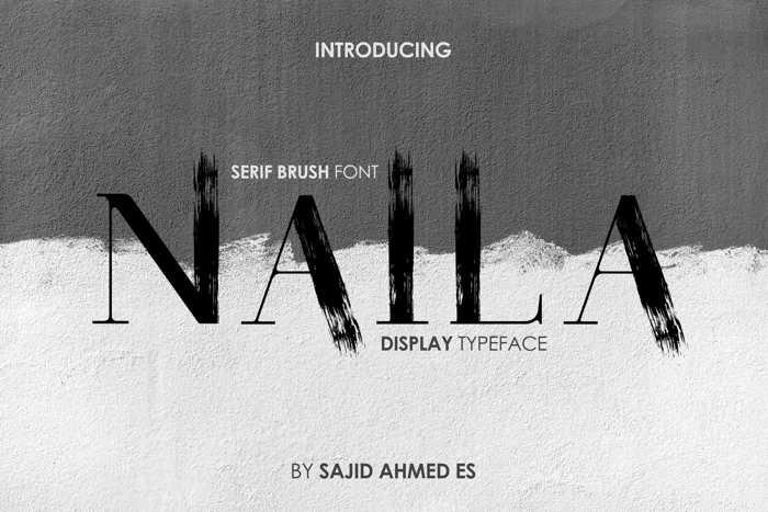 Naila Font poster