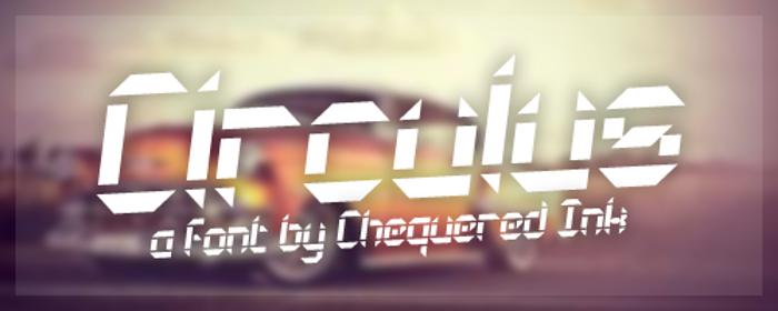 Circulus Font poster