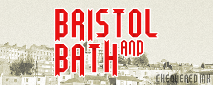 Bristol and Bath Font poster