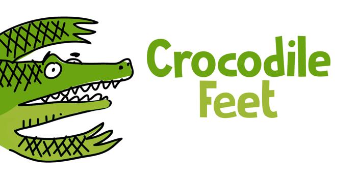 Crocodile Feet DEMO Font poster