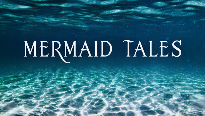 mermaidtales Font poster