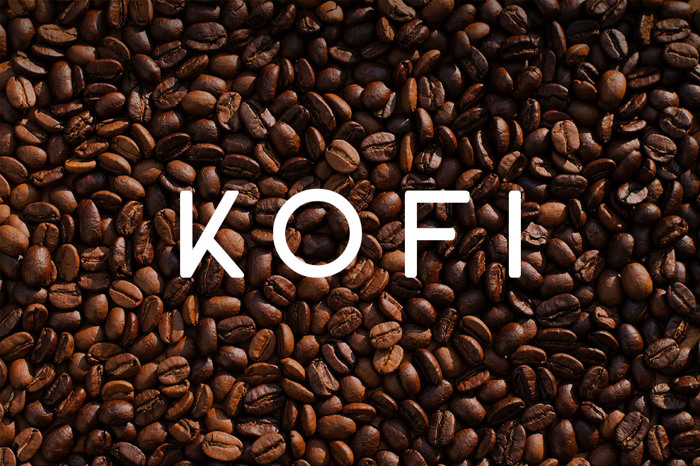 KOFI Font poster