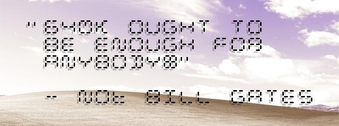 Calculatrix 12 Font poster