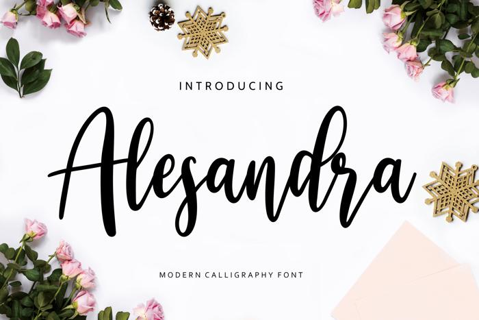 Alesandra Font poster
