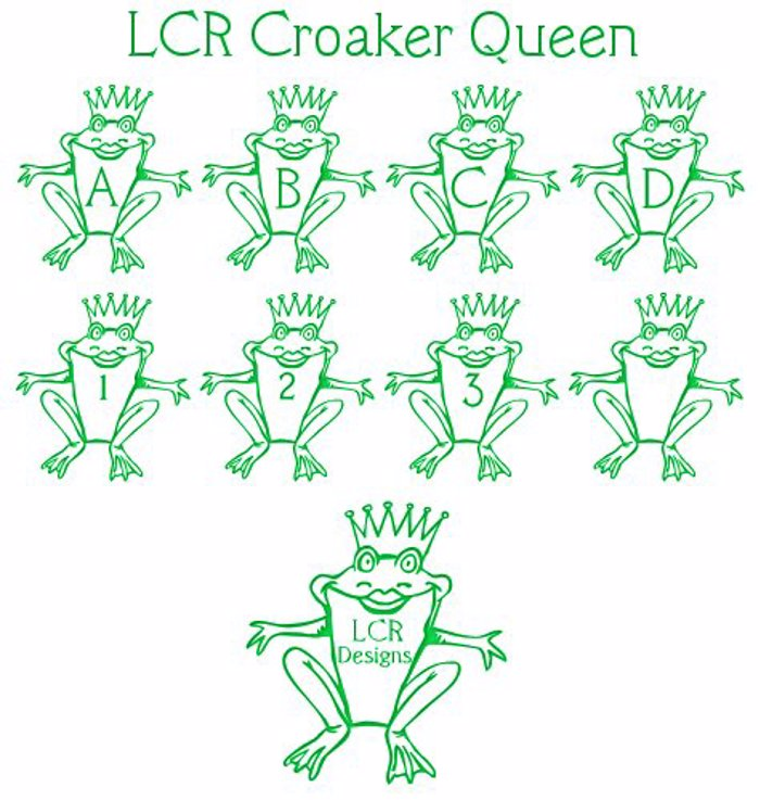 LCR Croaker Queen Font