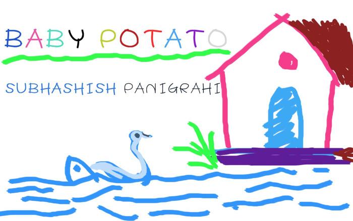BABY POTATO Font poster