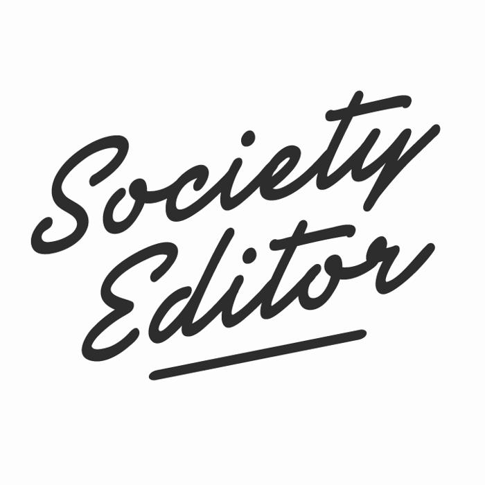 Society Editor Font poster