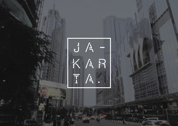 JAKARTA Font poster