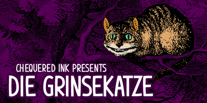 Die Grinsekatze Font poster