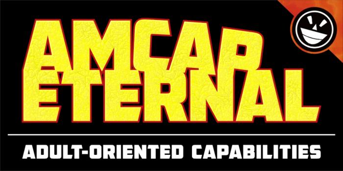 AMCAP Eternal Font poster