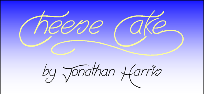 Cheese Cake Font poster