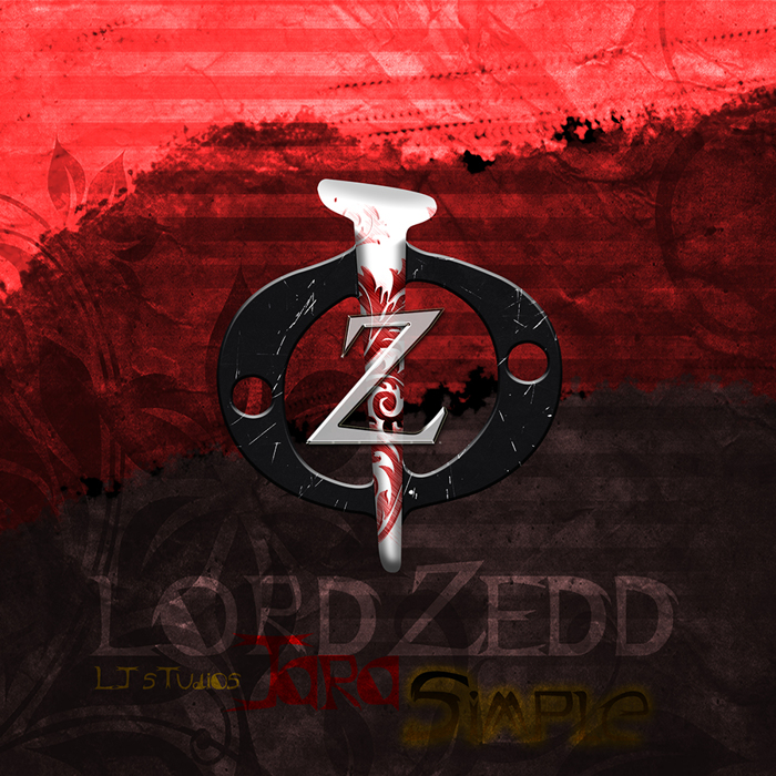 Lord ZeDD - LJ Studios Font poster
