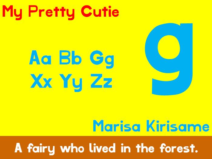 My Pretty Cutie Font