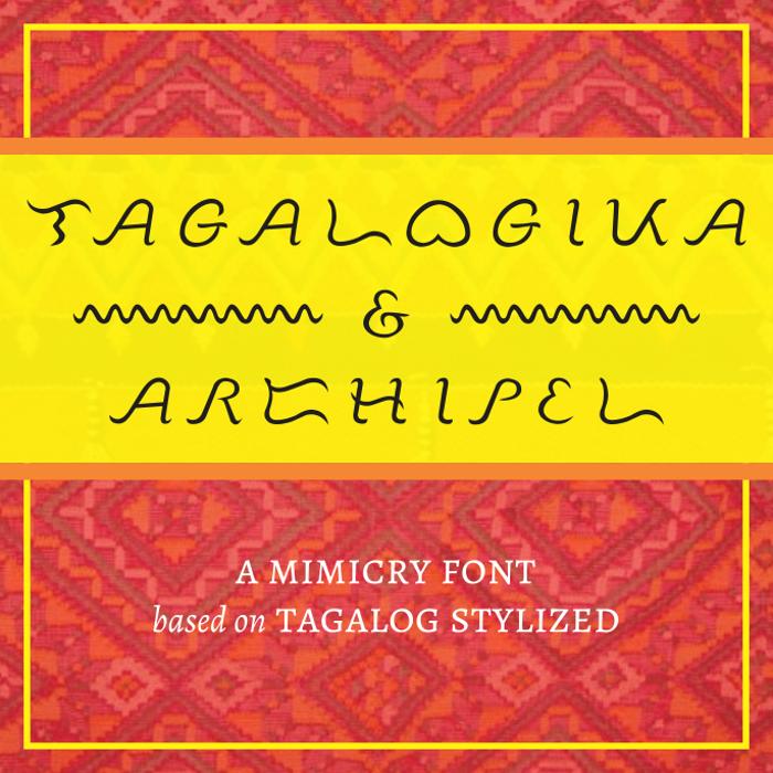 Tagalogika Font poster