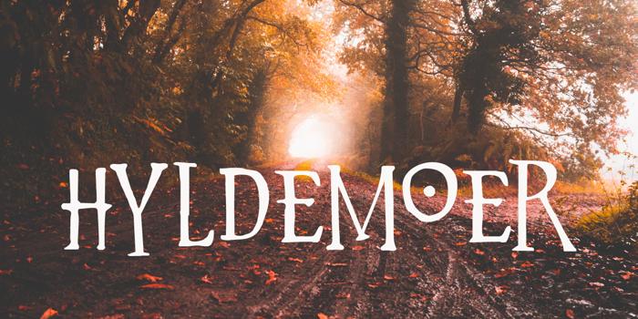 Hyldemoer DEMO Font poster