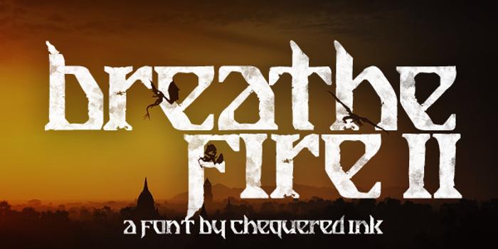 Breathe Fire II Font