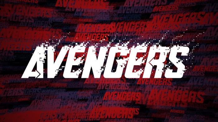 Avengero Disassembled Font poster