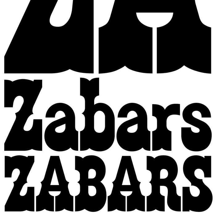 Zabars Font poster