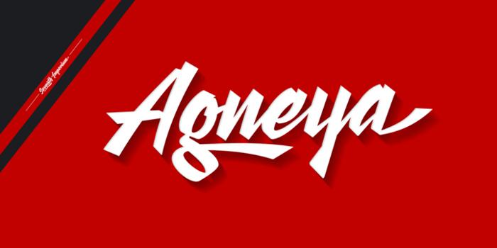 Agneya Font poster