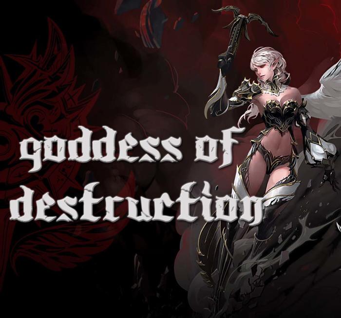 Goddess Font poster