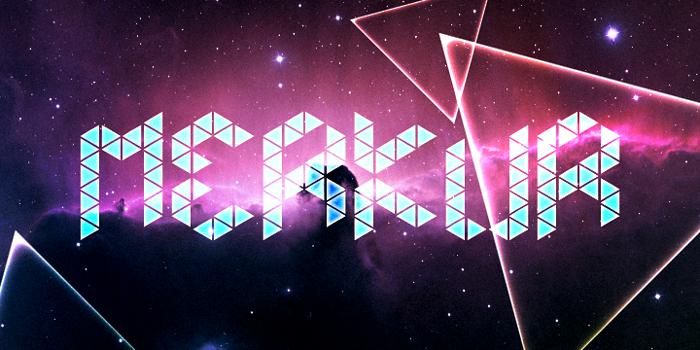Merkur Font poster
