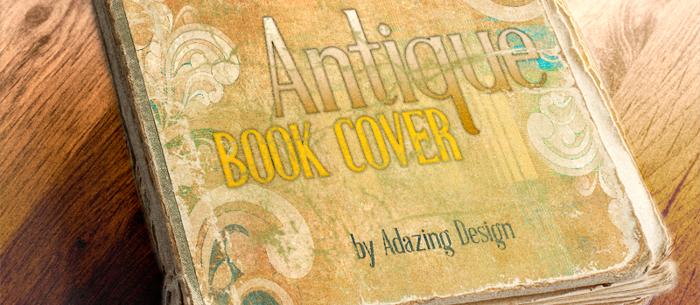 Antique Book Cover Regular Font poster