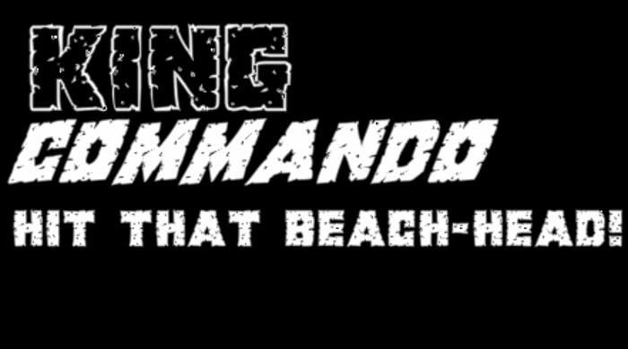 King Commando Font poster