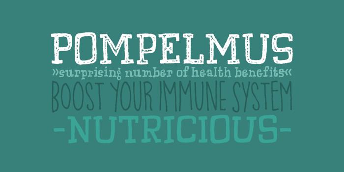 Pompelmus Sweet DEMO poster