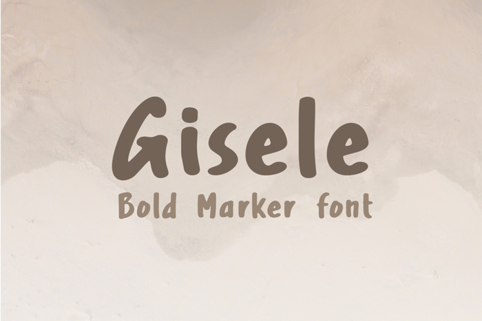 Gisele Font poster