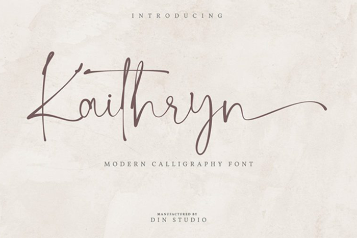 Kaithryn Font poster