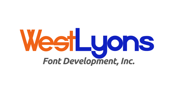 538Lyons Font poster