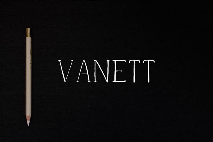 Vanett Demo Font poster