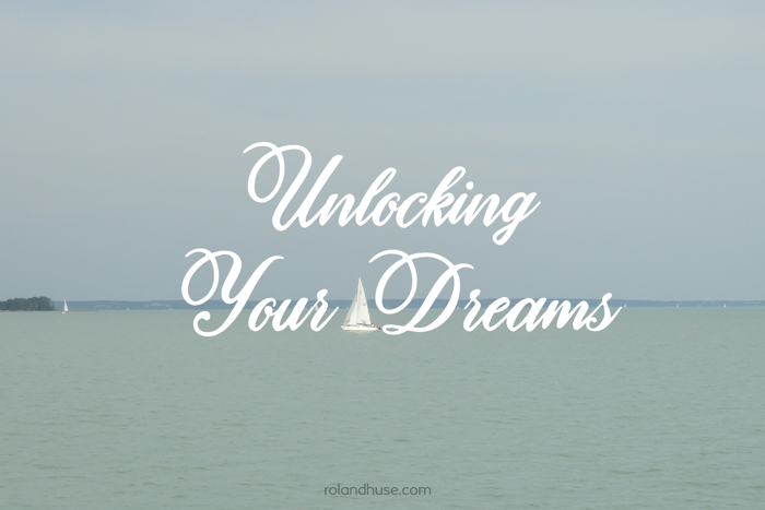 Unlocking Your Dreams Font poster