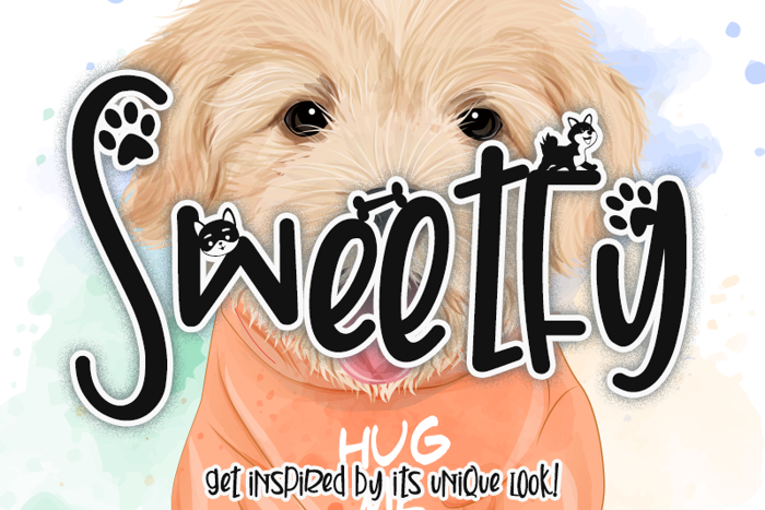 Sweetfy Font poster